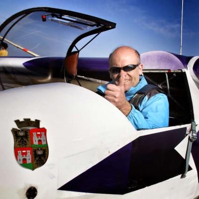 Tom Loibl – Geschäftsführer Flugschule, Fluglehrer